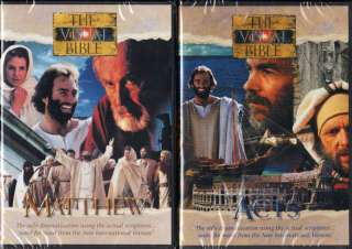 The Visual Bible Matthew / Acts, 4 DVDs