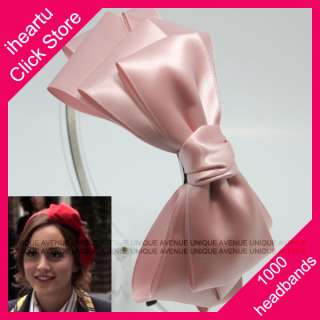 GOSSIP GIRL HEADBAND HAIR ACCESSORY HAT BOW BAND HB1373