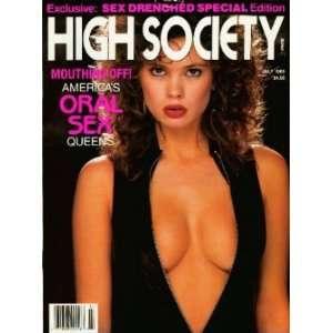 High Society Magazine: July 1989 (Volume 14, Number 3): C