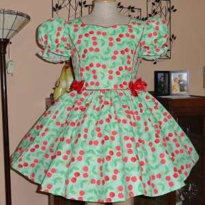 Adult Sissy Baby Dress Cherry Toss by Annemarie