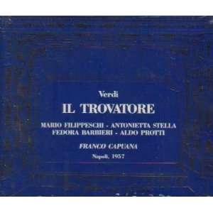 Mario Filippeschi, Aldo Protti, Fedora Barbieri, Plnio Clabassi: Music