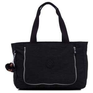 KIPLING WALU Medium Handbag Shoulder Tote Bag Black