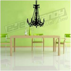 Chandelier Wall Decals Stickers Removable Wall Art