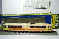 Ho TRAIN AHM HO SCALE BOING LRV SFMR LIGHTED WITH BOX