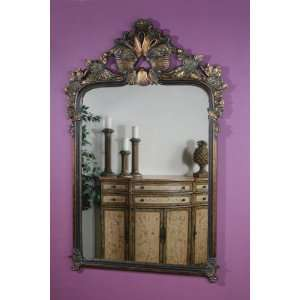 Marbella Large Baroque Mirror (Antiqued Look / Tarnished Bronze) (68.5