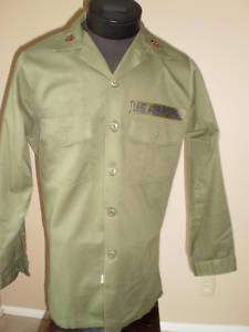 MILITARY AIR FORCE FATIGUE LONG SLEEVE UTILITY SHIRT