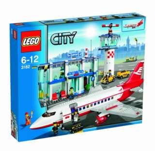 NEW LEGO CITY AIRPORT SET 3182 sealed box plane airplane nib nisb