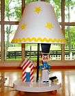 Vtg~Dolly Toy Co~LAMP & NIGHT LIGHT~Soldier~​Star~Kid~Baby~​Boy