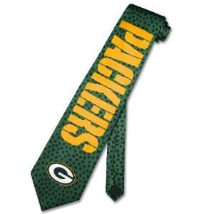 BAY PACKERS LOGO Texture NeckTie NFL Mens Neck Tie: Sports & Outdoors