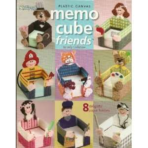Shop Plastic Canvas Memo Cube Friends (844506)  Books