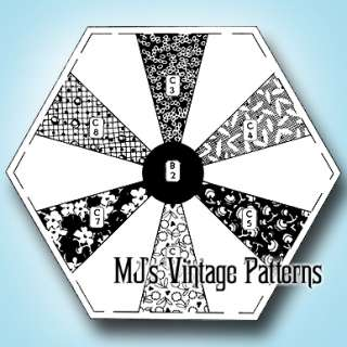 Vintage Endless Chain Mail Order Quilt Pattern