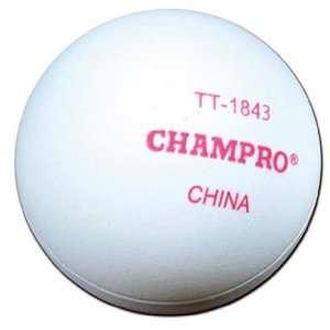 Champro Three Star Seamless Table Tennis Ball 6PK