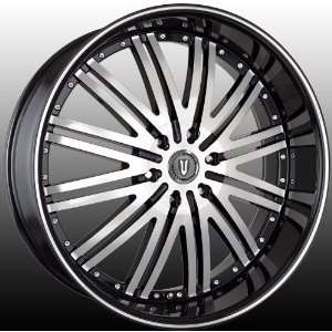 VERSANTE VE212 22x9.5 GMC Chevy Yukon Tahoe Escalate Wheels Rims