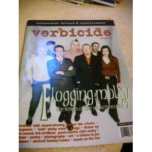 Verbicide Issue 6 w/ Flogging Molly Cover Rebekah