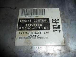 03 04 Toyota Tacoma 4cyl 4x2 ECU ECM 89661 0Y100