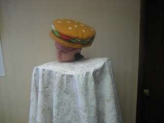 Hamburger on Table Rental Quality Halloween Costume