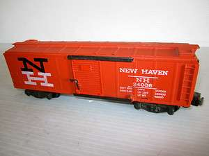 Vintage Gilbert American Flyer S Trains New Haven Boxcar # 24036