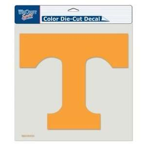 Tennessee Volunteers UT NCAA 8 X 8 Color Die Cut Decal