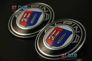ALPINA HOOD TRUNK EMBLEM BADGE LOGO BMW E46 E90 2PCS