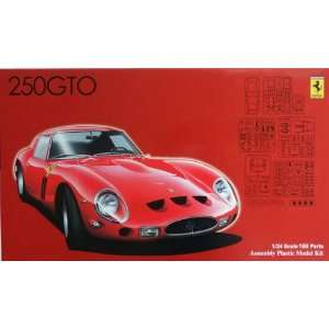 Fujimi 1/24 Ferrari 250 GTO Car Model Kit Toys & Games