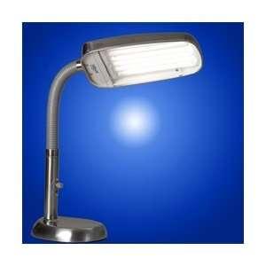 BlueMax 70w Full Spectrum Dimmable Desk Lamp   Nickel