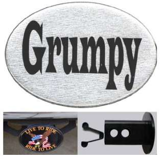Grumpy Trailer Hitch Cover Auto Car Truck SUV NEW