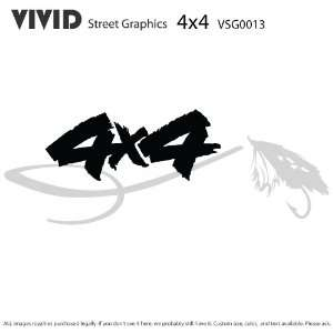 4x4 FLY FISHING TRUCK GRAPHICS Decals Stickers Everything