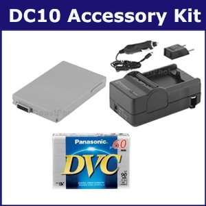 Canon DC10 Camcorder Accessory Kit includes SDBP208