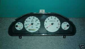 Nissan Maxima SE Instrument Cluster White Face 1998 98