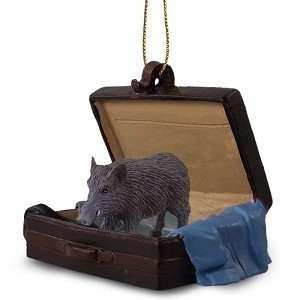 Razorback Hog Traveling Companion Ornament: Home & Kitchen