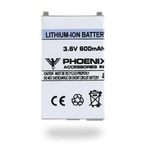 Sony Ericsson T206 Lithium Ion 600 mAh Battery