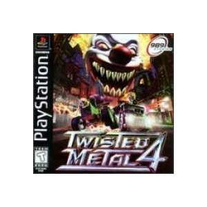 TWISTED METAL 4 (SONY PLAYSTATION CD ROM VIDEO GAME VERSION) (TWISTED