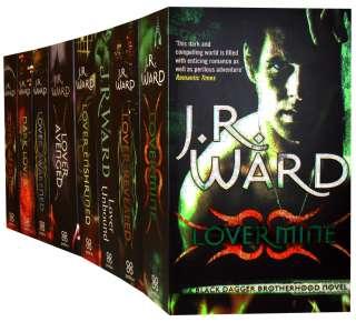 Black Dagger Brotherhood Series J R Ward 7 Books Set