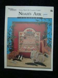 BHG RARE HTF NOAHS ARK SAMPLER CROSS STITCH PATTERN VTG