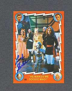 Felix Silla signed 1979 Twiki Buck Rogers trading card