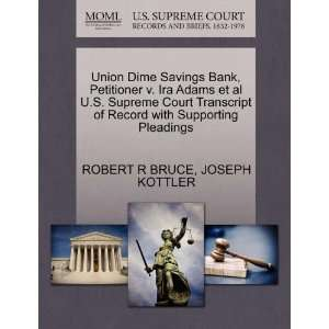 Pleadings (9781270330233) ROBERT R BRUCE, JOSEPH KOTTLER Books