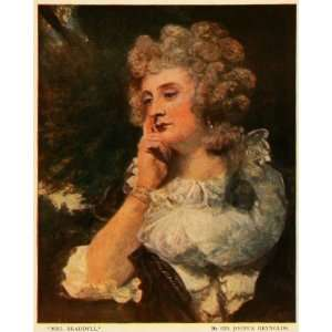 English Painter Sir Joshua Reynolds Artwork   Original Color Print