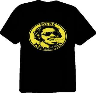 stevie wonder vintage Motown soul legend t shirt