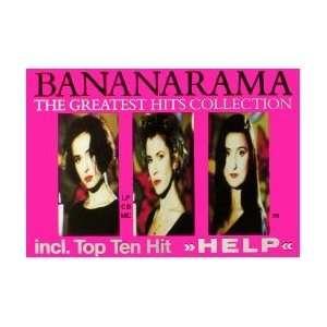 BANANARAMA Greatest Hits Collection Music Poster
