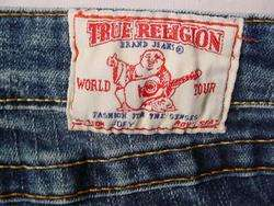 TRUE RELIGION JOEY STRETCH TWISTED BOOT CUT JEANS 30X30