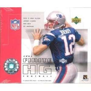 2004 Upper Deck Finite HG (High Gloss) NFL Football Sports