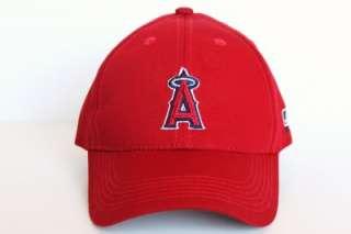 Angeles ANGELS MLB Licensed Junior Baseball Hologram Logo Cap Hat  Red