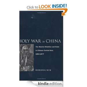 Chinese Central Asia, 1864 1877 Hodong Kim  Kindle Store