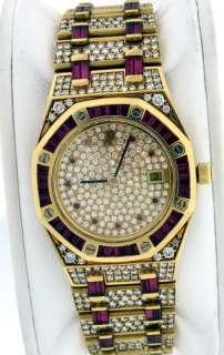 Audemars Piguet Royal Oak NEW 18k Yellow Gold Diamond / Ruby $284,400