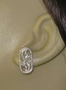 Designer 14K White Gold 1.00ctw Genuine Old Cut Pave H SI Diamond