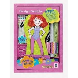 Dress Me Groovy Girls Design Studio   ORyan Toys & Games