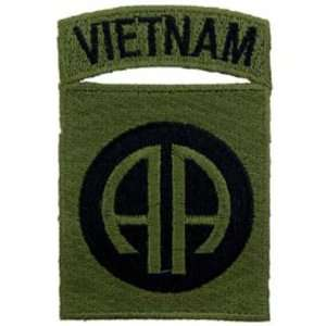 Vietnam 82nd Airborne Patch Green 3 Patio, Lawn & Garden