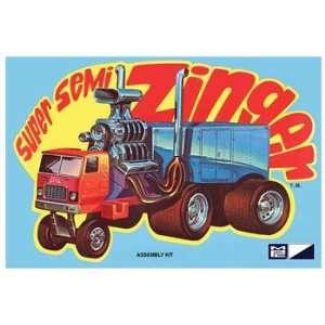 Semi Tractor Trailer Zinger (5 1/8) (MPC Boxart Ltd Production) Toys
