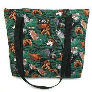 Wolf Bear Deer Tote Bag Case Pack 12: Everything Else