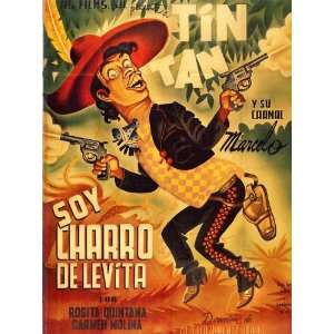 Soy charro de Levita Poster Movie Mexican 11x17:  Home